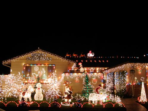 where to see the best christmas decorations in sydney 2015