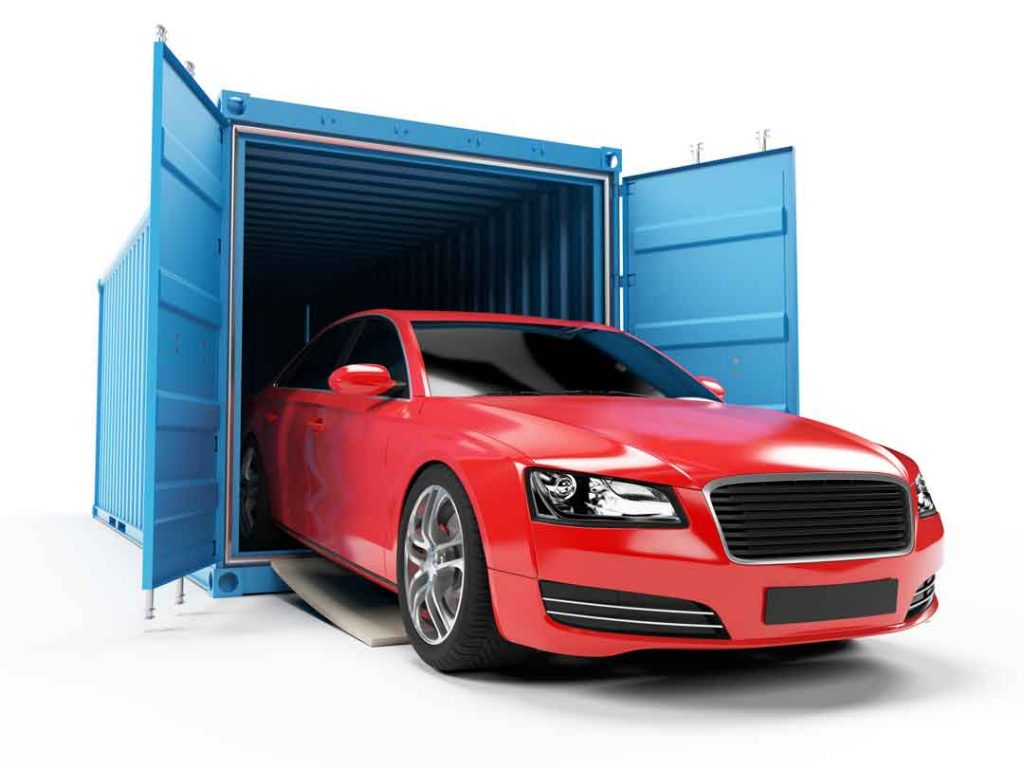 Car in a Container