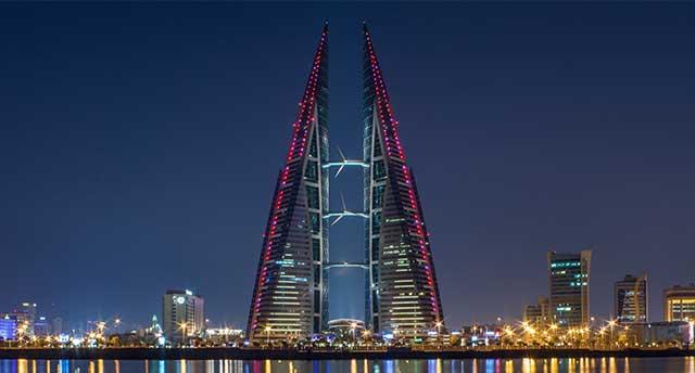 Bahrain World Trade Center in Bahrain