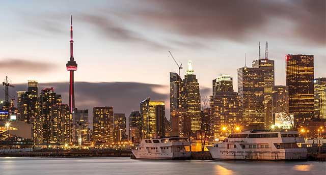 Toronto City in Canada