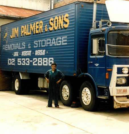 Palmers Relocations Old Truck