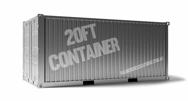 20ft container capacity