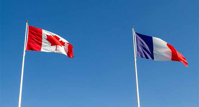 English and French in Canada
