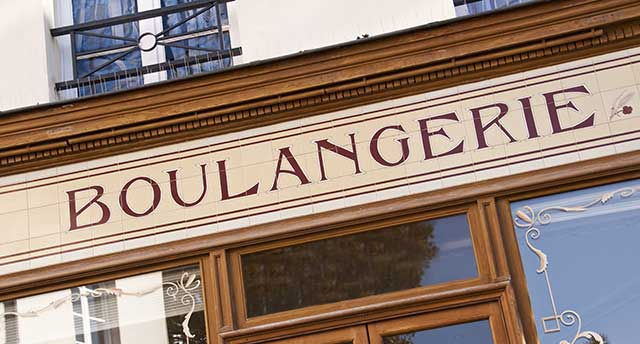 French- Boulangerie Front Store
