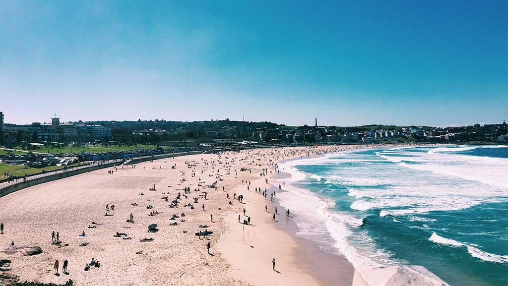 Bondie Beach in Sydney Australia