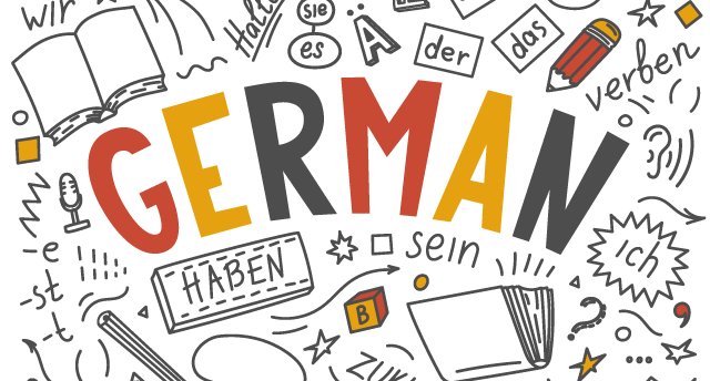 They speak good English, but learn German