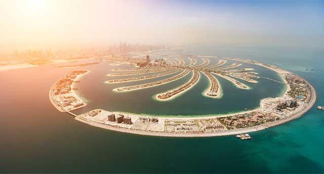 Famous Palm Islands in Dubai