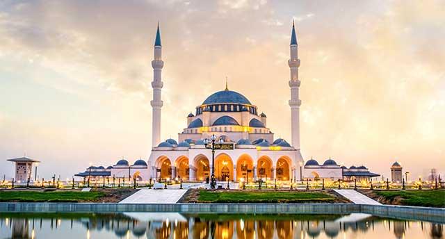 Sharjah New Mosque in Dubai